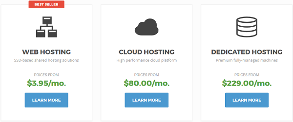 Different SiteGround Hosting Plans