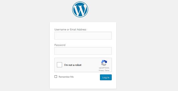WordPress Login Option