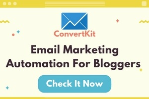 ConvertKit - Best Email Marketing for Bloggers