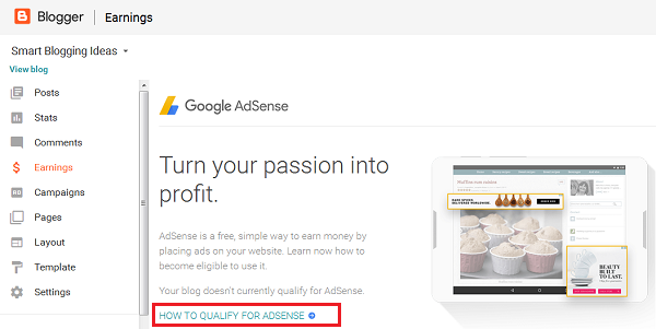 How to Qualify for Google Adsense