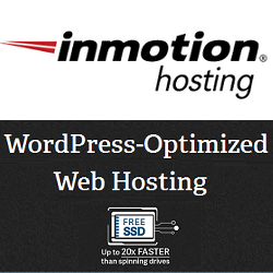 InMotion WordPress Hosting Features: